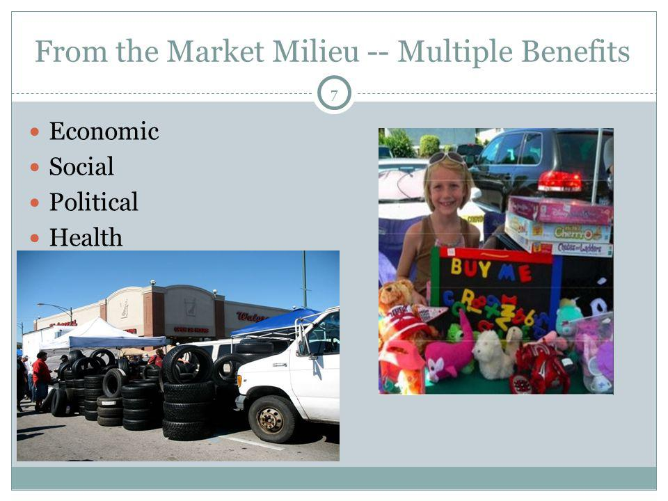 From the Market Milieu -- Multiple Benefits Economic Social Political Health 7