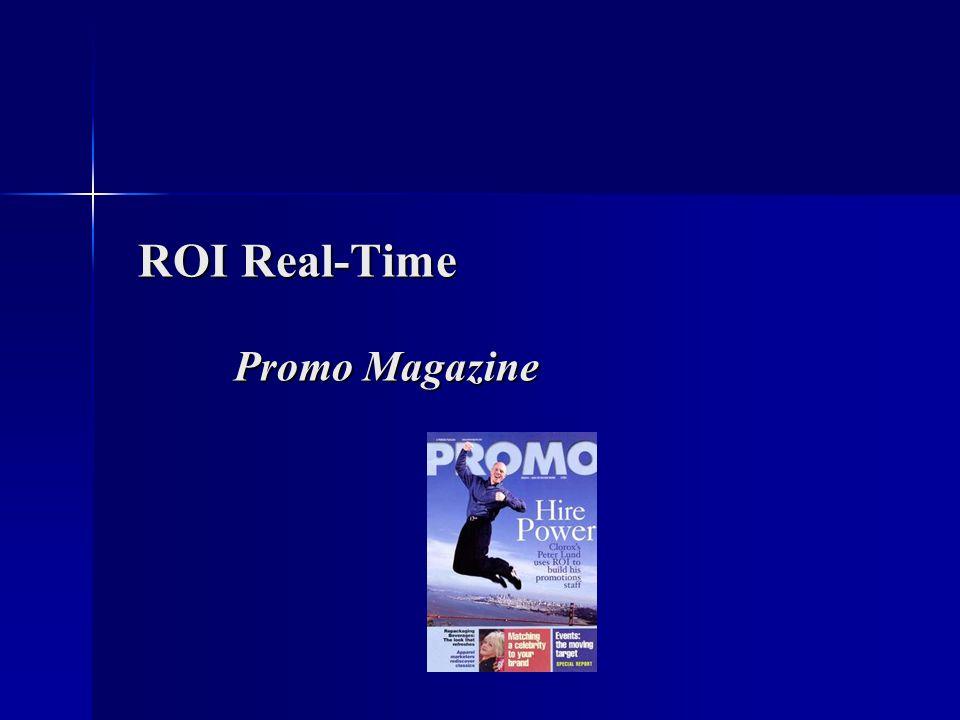 ROI Real-Time Promo Magazine