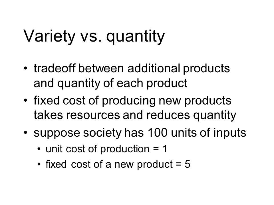 Variety vs.