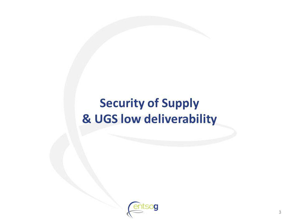 Security of Supply & UGS low deliverability 3