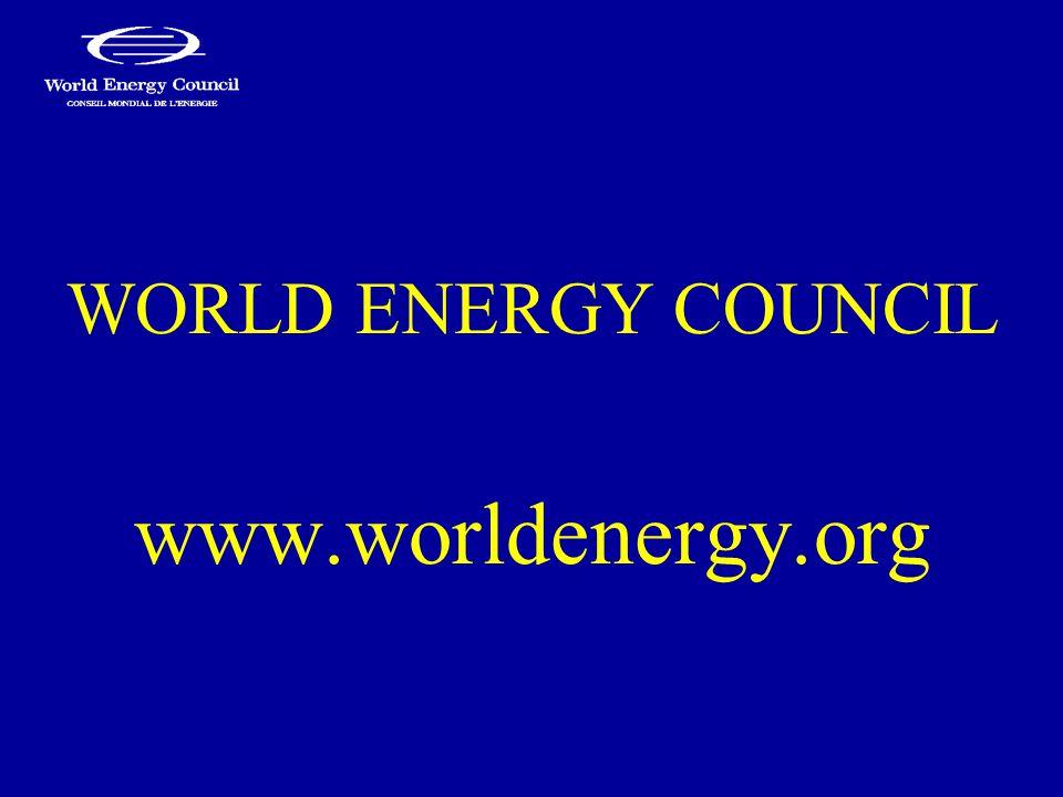 WORLD ENERGY COUNCIL www.worldenergy.org