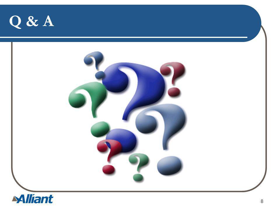 Q & A 8