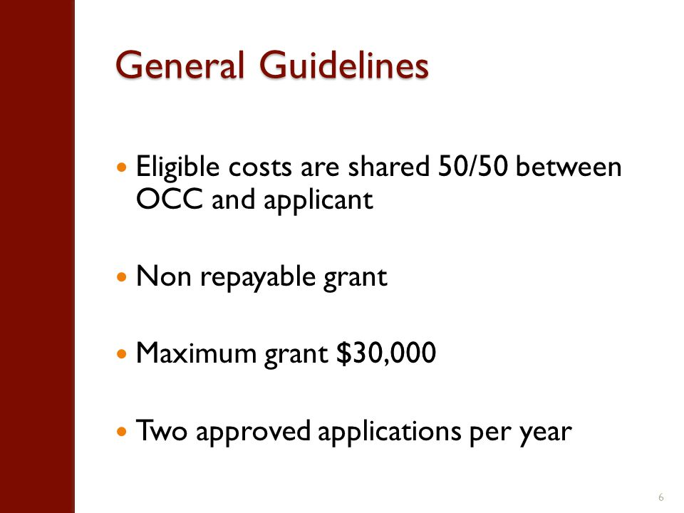 Eligible Applicants Between 5 and 500 employees Minimum annual sales of $500,000 A registered company for at least 2 years Established and operating in Ontario Existing goods and services produced in Ontario Cannot be in receipt of public funds towards activities contained in the application other than from MITI 7