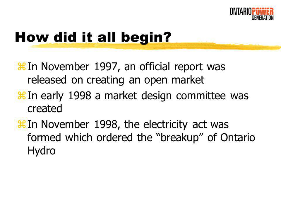 Something is to So, Me, Thing as Ontario Hydro is to...