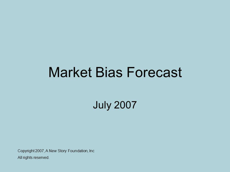 What is a Market Bias Forecast.
