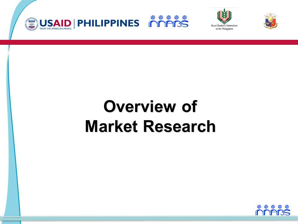 Overview of Market Research