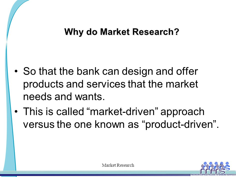 Why do Market Research.