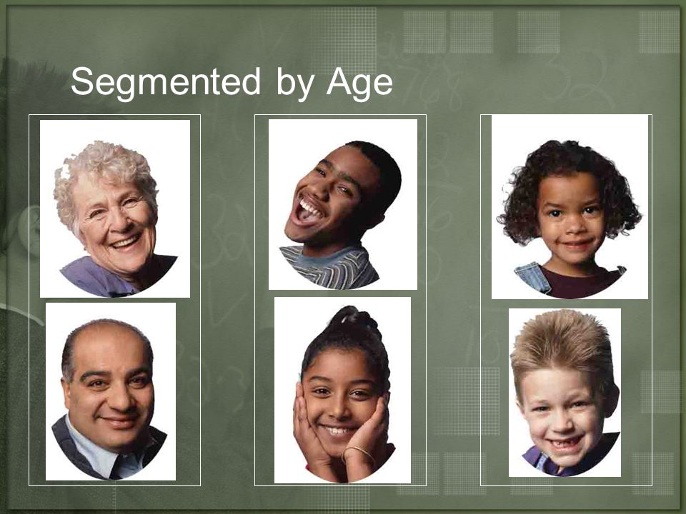 Segmented by Age
