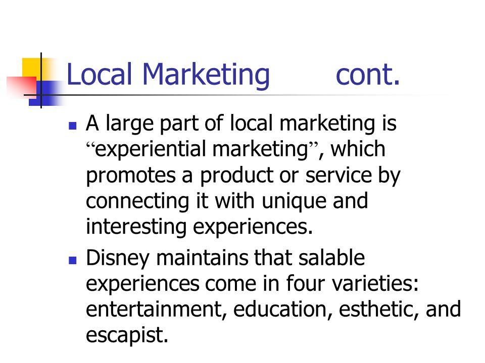 Customerization The ultimate level of segmentation leads to segments of one.