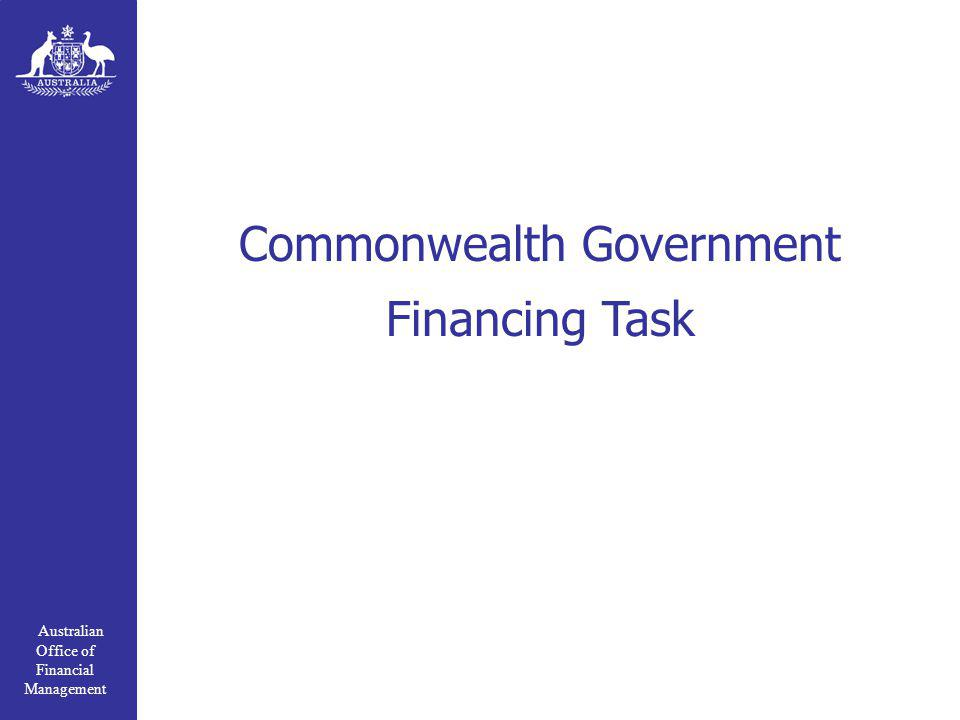 Australian Office of Financial Management Commonwealth Government Financing Task