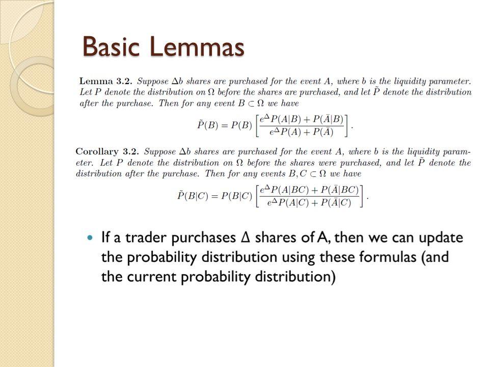 Basic Lemmas