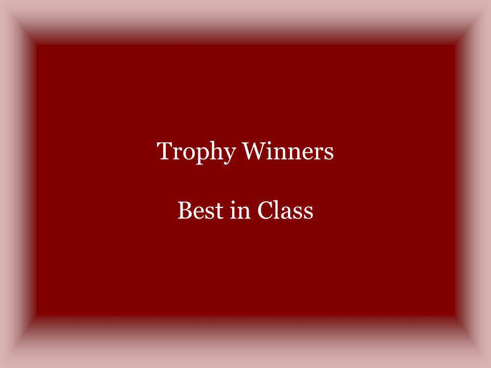 Trophy Winners Best in Class