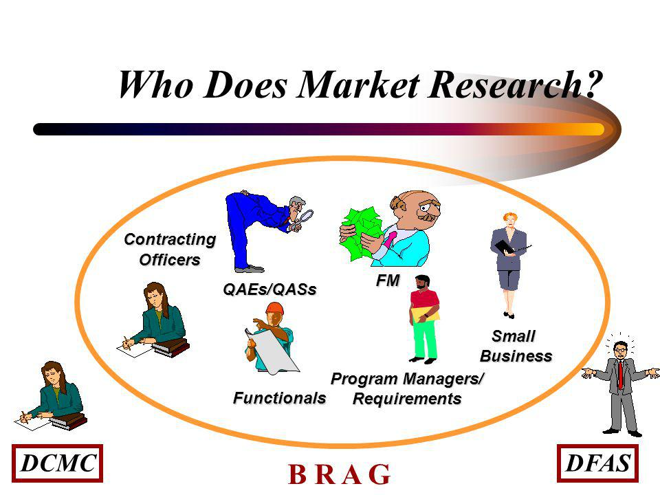 Who Does Market Research?