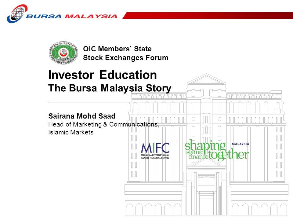 2 Content 1.Brief Overview on Bursa Malaysia 2.Business Lines 3.Market Education & Engagements 4.Islamic Markets Sukuk Listings Bursa Suq Al-Sila 5.Marketing Communication Plan