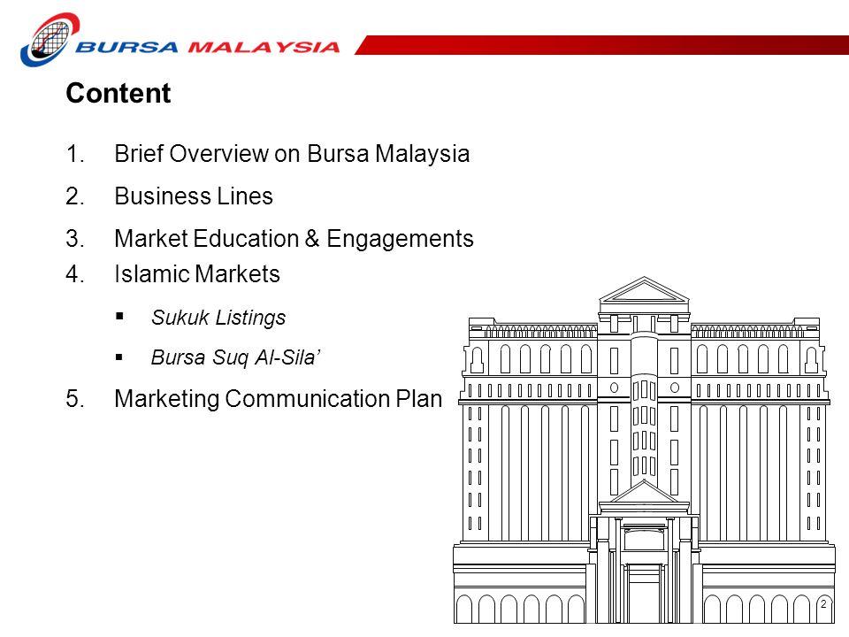 3 Who is Bursa Malaysia Berhad (1818) .