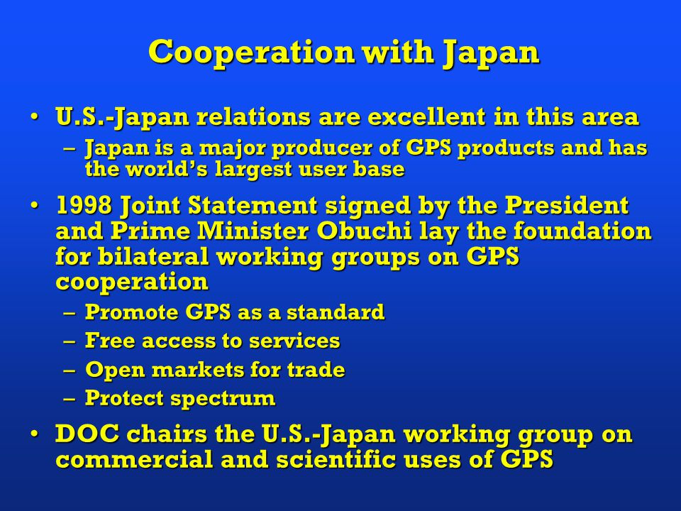 International Cooperation & Trade