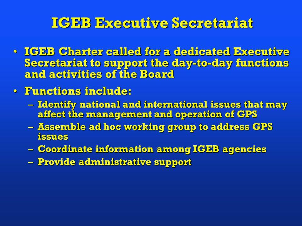 IGEB Executive Secretariat