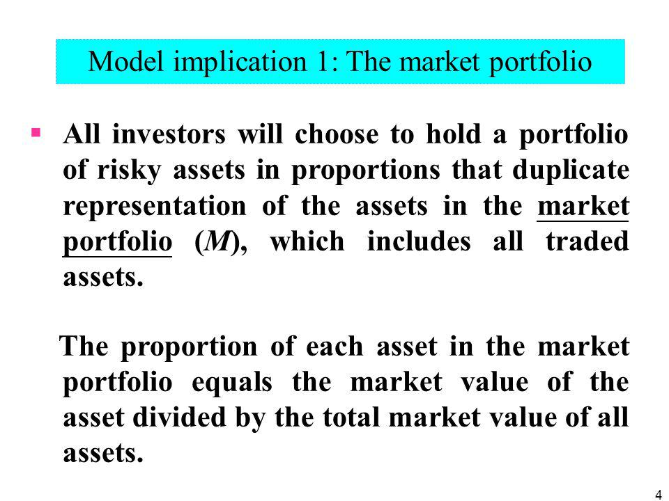 35 The index model beta coefficient turns out to be the same beta as that of the CAPM expected return-beta relationship, except that we replace the (theoretical) market portfolio of the CAPM with the well-specified and observable market index.