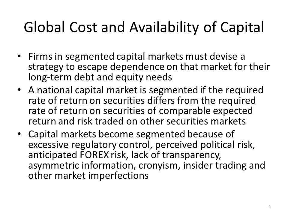 Alternative Estimates of Cost of Equity for a Hypothetical US Firm 15