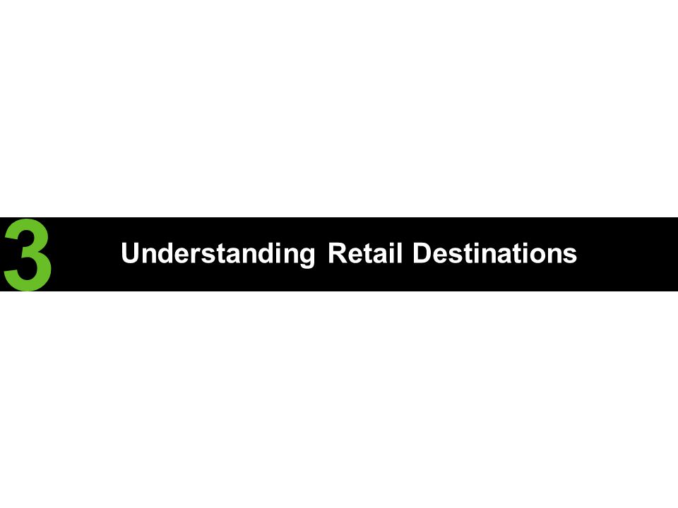 Understanding Retail Destinations 3