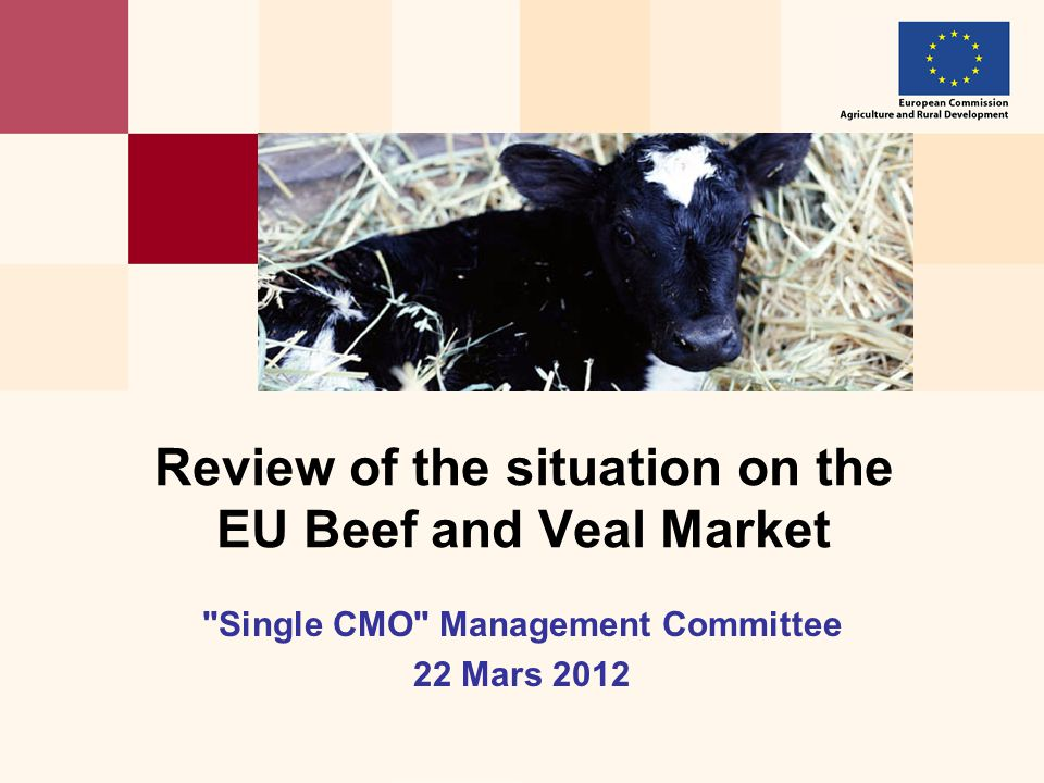 2 EU Bovine Livestock : Total ( Dec 2011 ) Evolution EU production