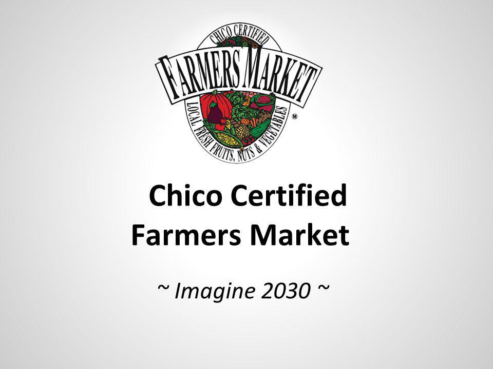 ~ Imagine 2030 ~ Chico Certified Farmers Market