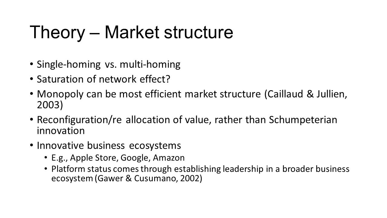 Theory - Pricing Price structure: Transaction-based vs.