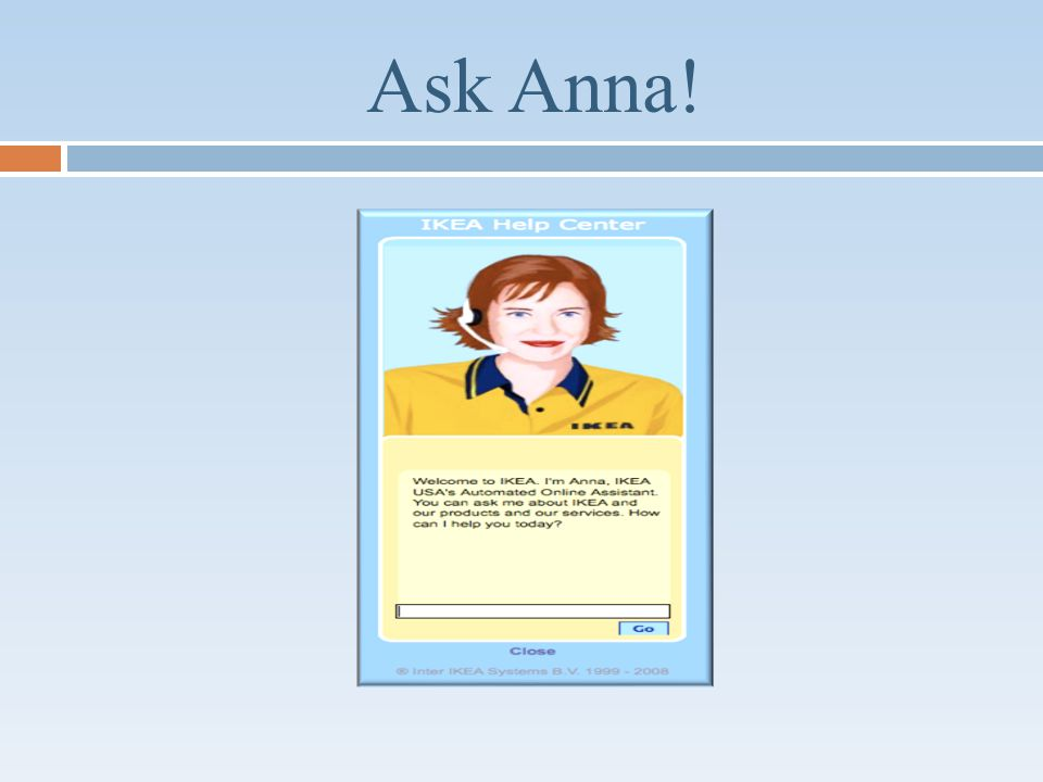 Ask Anna!