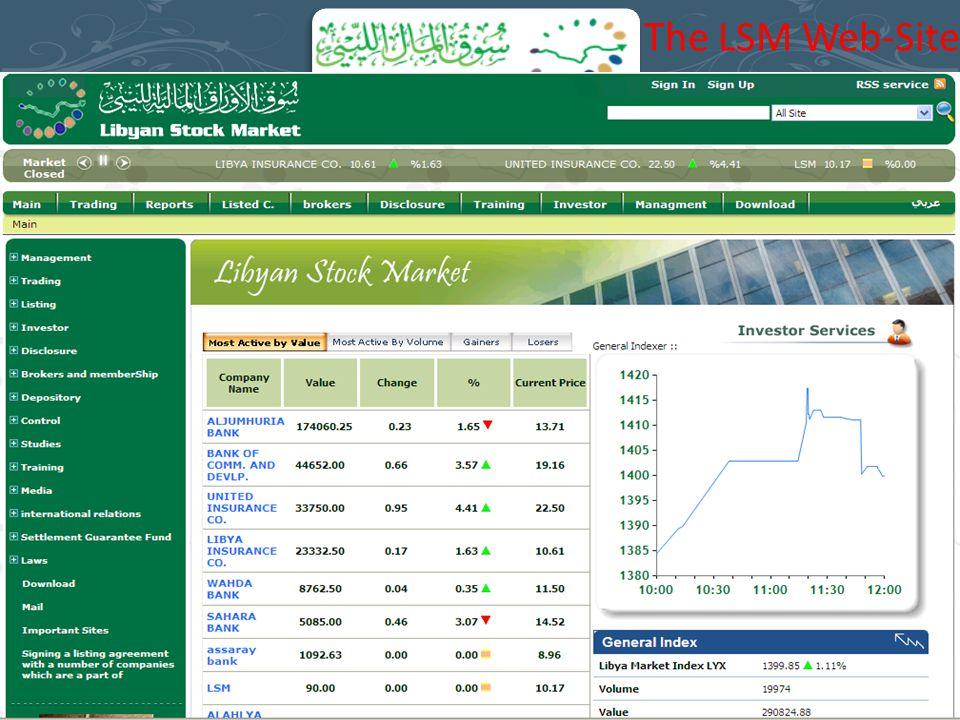 The LSM Web-Site