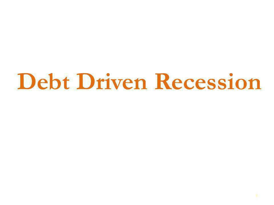 Debt Driven Recession 8