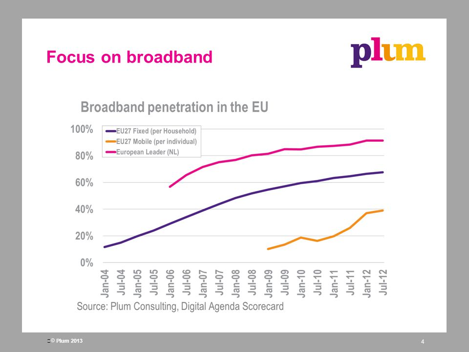 Plum 2013 Focus on broadband 4