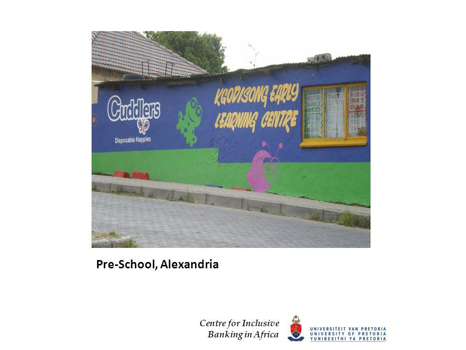 Centre for Inclusive Banking in Africa Pre-School, Alexandria