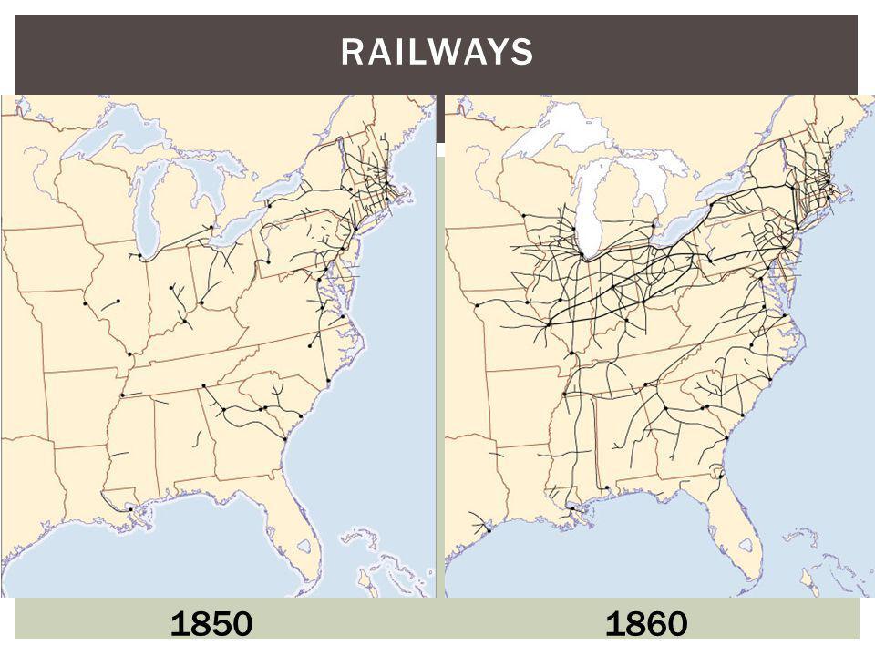 RAILWAYS 18501860