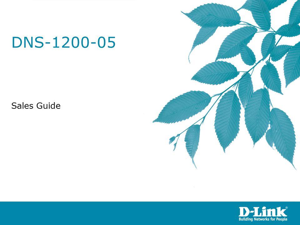 DNS-1200-05 Sales Guide