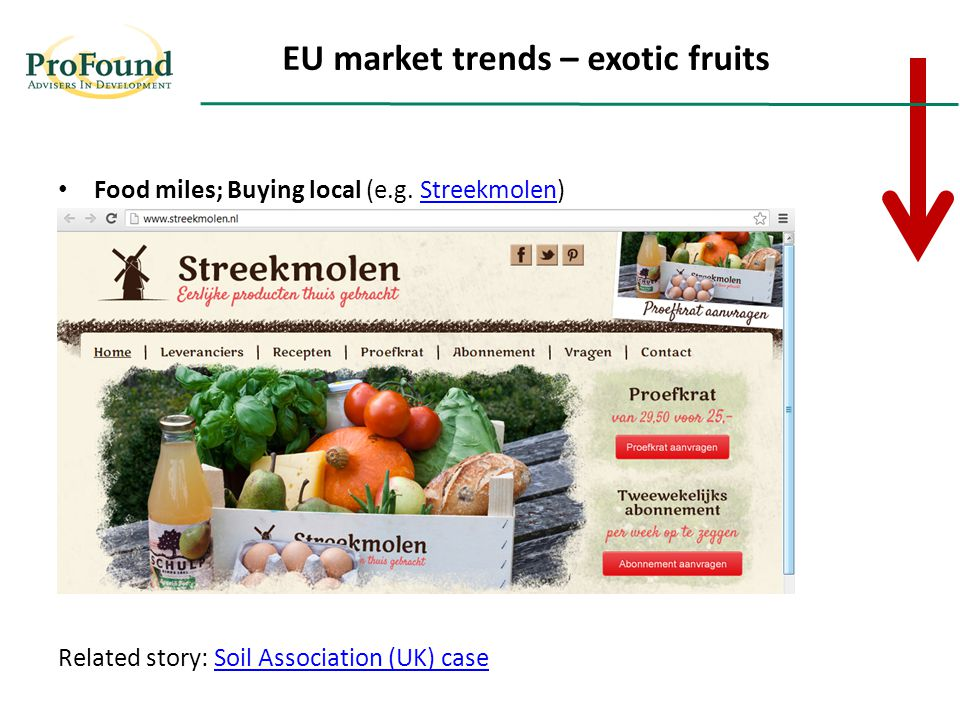 Food miles; Buying local (e.g.