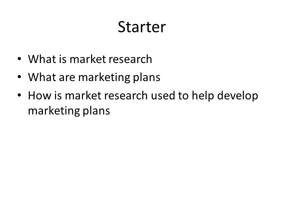 Writing Up Your Research In your power point make recommendations for how Tesco can improve the validity of the market research used in forming market plans.