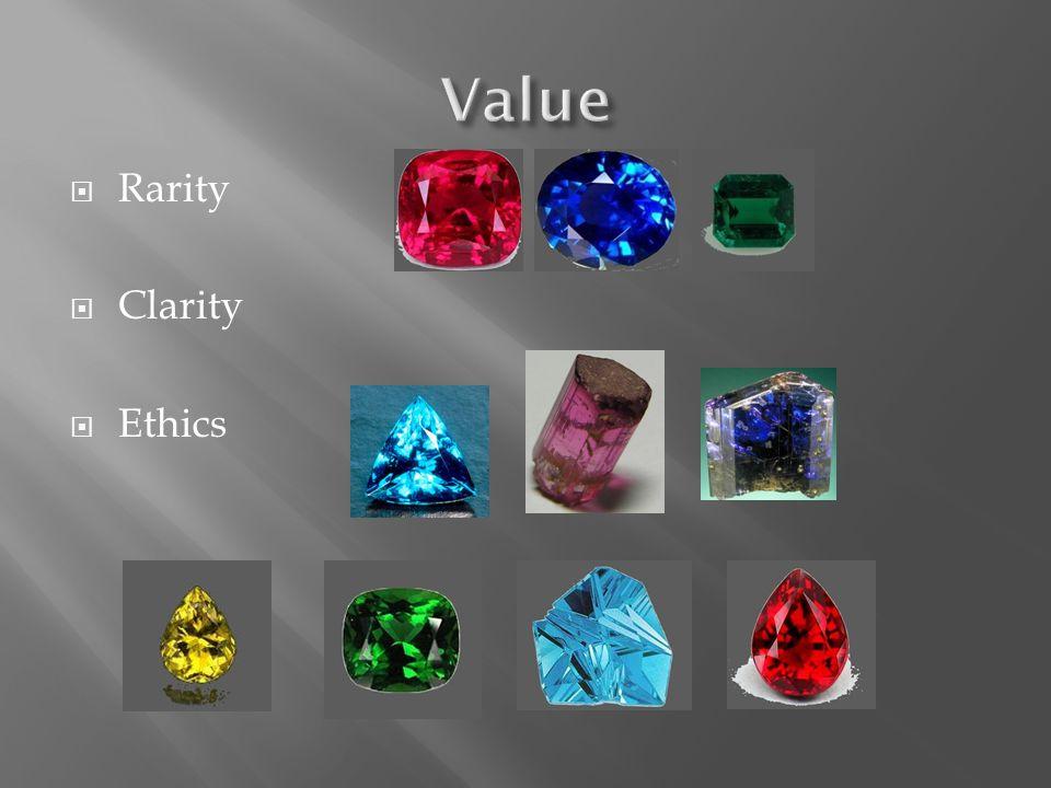 Rarity Clarity Ethics