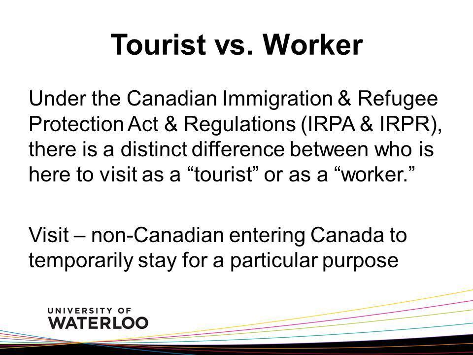 Tourist vs.