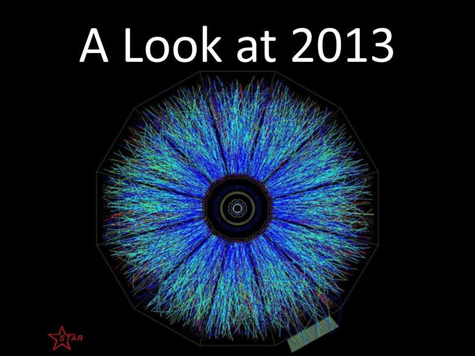 A Look at 2013