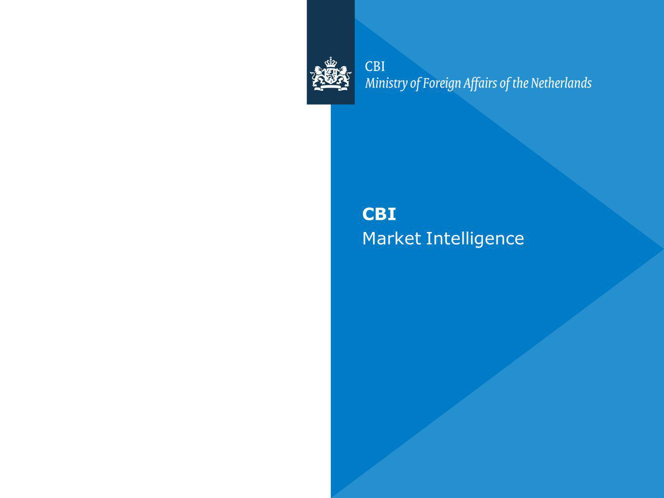 CBI Market Intelligence
