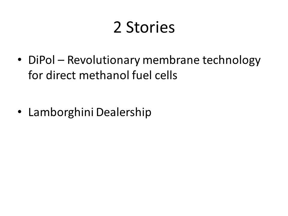 2 Stories DiPol – Revolutionary membrane technology for direct methanol fuel cells Lamborghini Dealership