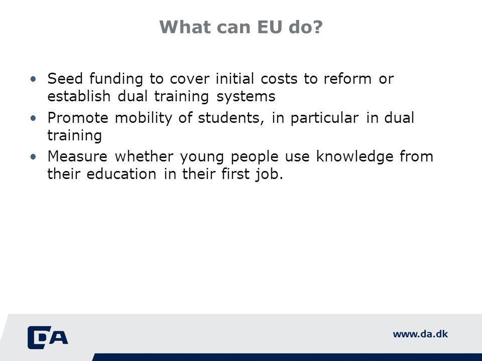 What can EU do.