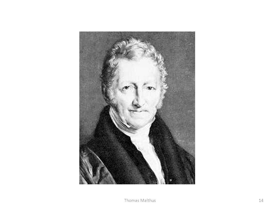 14Thomas Malthus