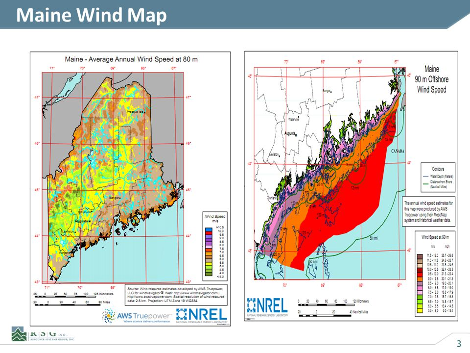 3 Maine Wind Map