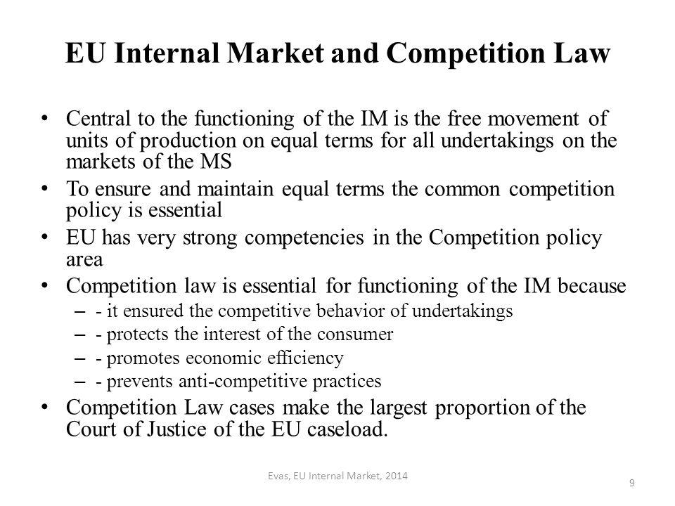 EU IM and Common Commercial Policy The core issues: customs tariffs, trade in goods and services, trade related aspects of IP, FDI, liberalisation measures and protectionist measures, export policy.