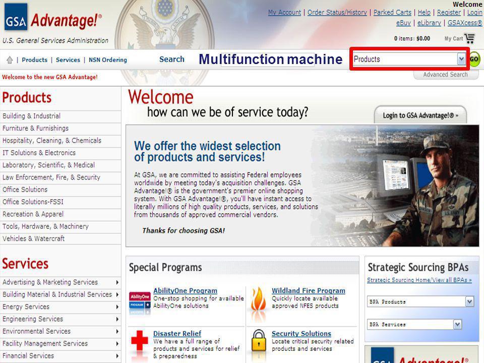 Multifunction machine