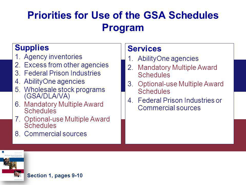 GSA Customer Service Directors http://www.gsa.gov/csd