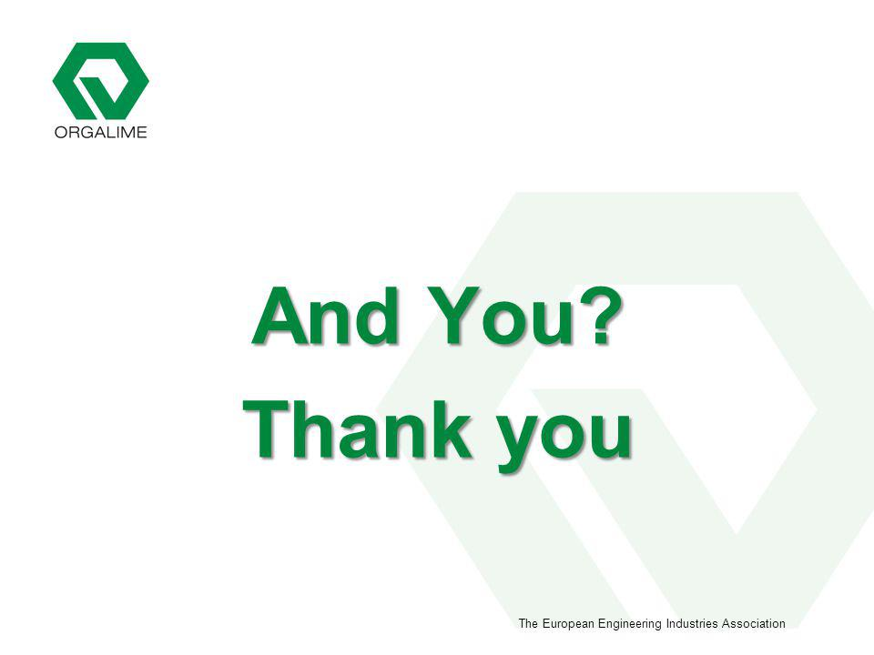 The European Engineering Industries Association And You Thank you