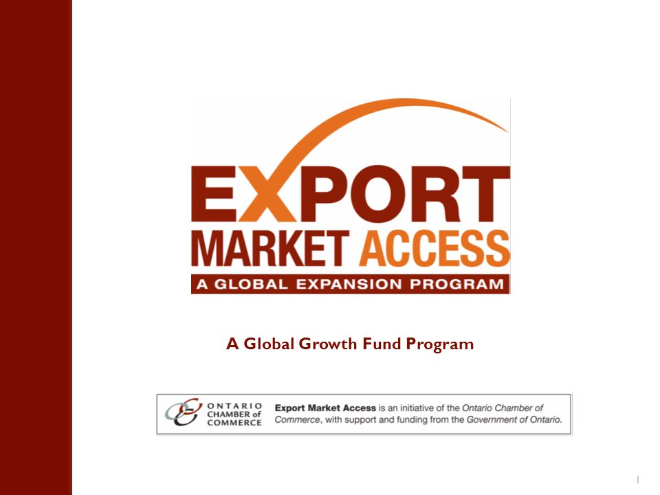 1 A Global Growth Fund Program