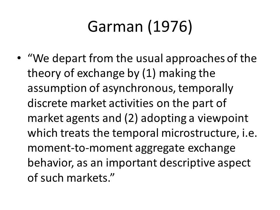 Asymmetric liquidity depends on the information set.